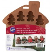 Wilton Silicone Gingerbread Boy Mould