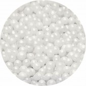4mm Pearlised White Pearls 80g