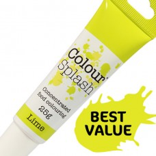 Colour Splash Gel - Lime