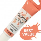 Colour Splash Gel - Coral