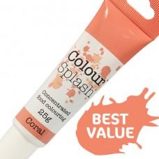 Colour Splash Gel - Coral