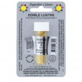 Sugarflair Lustre Dust Festive Gold