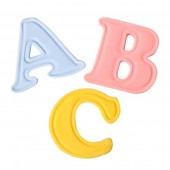 Mini Cake Star Easy Push Alphabet Cutters- Upper Case