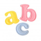 Mini Cake Star Easy Push Alphabet Cutters- Lower Case