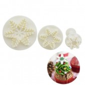 CQ Snowflake Plunger Cutters - Set/3