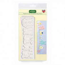 Katy Sue Baby Clothes Washing Line Mould