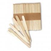 SilikoMart Mini Wooden Lolly Sticks Pk/100