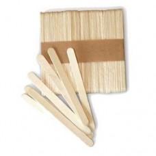 SilikoMart Wooden Lolly Sticks Pk/100