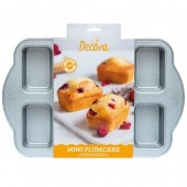 Decora Non-Stick Mini Plum Cake Tin