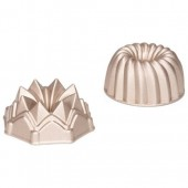Patisse Bundt Pan Cast Aluminum Set/2