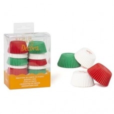 Decora White, Red & Green Mini Buncases Pk/200