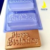 Porto Formas Mould - Happy Birthday Bar