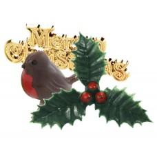 Yule Log Christmas Cake Decorating Kit