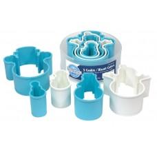 Snowman Plastic Cutter Set/5