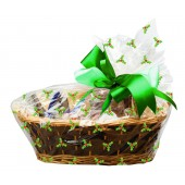 Basket Holly Cello Bags with Twist Ties Pk/6