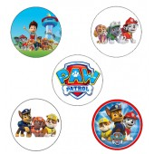 Paw Patrol Cupcake Toppers - 15 x 2""