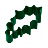 Green Holly Leaf Cookie Cutter