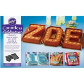 Wilton Letters & Numbers Cake Pan Set