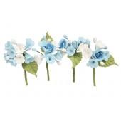 House of Cake Mini Rose Spray - Blue Set/4