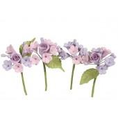House of Cake Mini Rose Spray - Lilac Set/4
