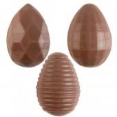 3D Bas Relief Mini Belgian Chocolate Eggs Box/96