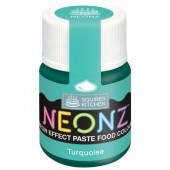 Squires NEONZ Paste Colours - Turquoise