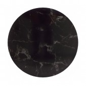 "12"" Masonite Cake Board - Black Marble"