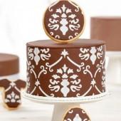 Decora Cake Stencil - Baroque