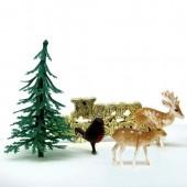Woodland Yule Log Decorating Kit