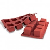 SilikoMart Cube Mould - 8 Cavity