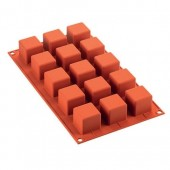 SilikoMart Cube Mould - 15 Cavity