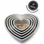 "6"" PME Heart Tin"