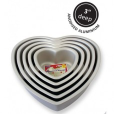 "12"" PME Heart Tin"