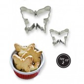 PME Butterfly Cookie Cutters Set/2