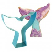 Blue Mermaid Tail Cookie Cutter
