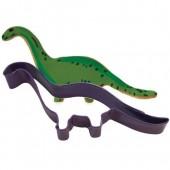 Purple Brontosaurus Cutter