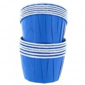 Blue Baking Cups Pk/12