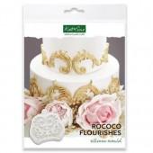 Katy Sue Rococo Flourishes Mould