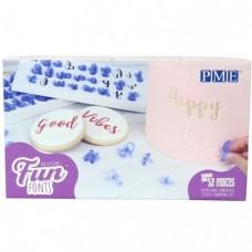 PME Fun Fonts Alphabet Set - Upper & Lowercase