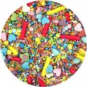Rainbow Heart's Sprinkle Mix 100g