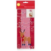 Wilton Reindeer Treat Bags Pk/20