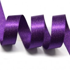 15mm Purple Sparkle Ribbon