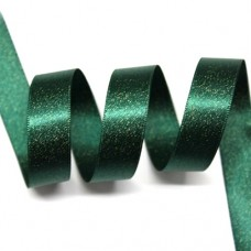 15mm Spruce Sparkle Ribbon