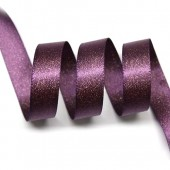 15mm Amethyst Sparkle Ribbon
