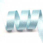 15mm Ocean Blue Sparkle Ribbon