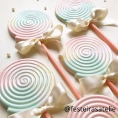 Porto Formas Swirl Lollipop Mould