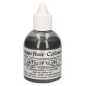 Sugarflair Airbrush Antique Silver 60ml