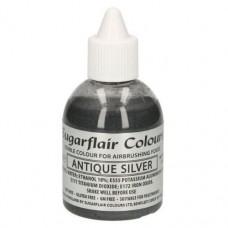 Sugarflair Airbrush Antique Silver 60ml