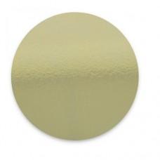 """12"""" Masonite Cake Board - Mirror Gold"""