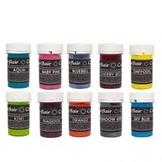 Sugarflair Mixed Pastel Paste Collection 10 x 25g